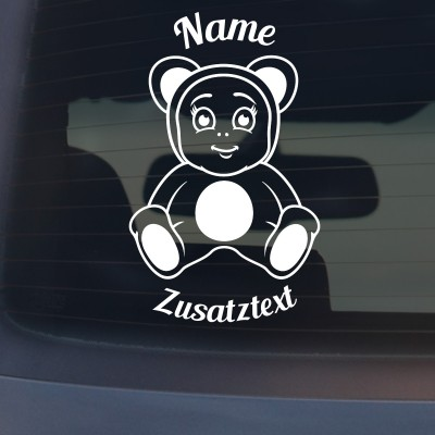 "Babyaufkleber ""Leon"" mit Wunschname"
