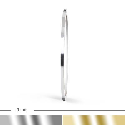 Chrom Zierstreifen 4mm