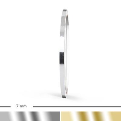 Chrom Zierstreifen 7mm