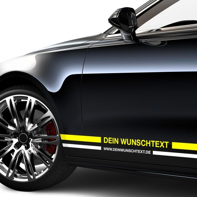 Motoking Zierstreifen Aufkleber Folie Auto Boot Motorrad Wohnmobil Wohnwagen /& mehr 2 mm Breite 10 m L/änge Reflektierend Wei/ß