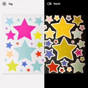 Sterne reflektierende Aufkleber fahrrad