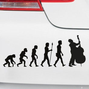 Autoaufkleber Evolution Cello