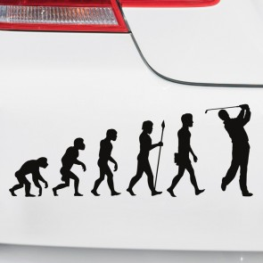 Autoaufkleber Evolution Golf