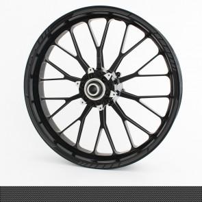 Felgenrandaufkleber GP Design Carbon