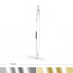Chrom Zierstreifen 1mm