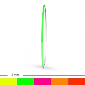 Neon Zierstreifen 3mm