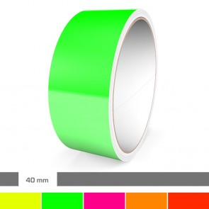 Neon Zierstreifen 40mm