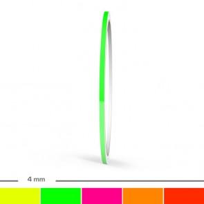 Neon Zierstreifen 4mm