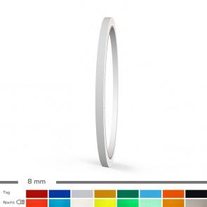 Reflektierende Zierstreifen 8mm