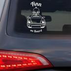 "Babyaufkleber ""Finn"" mit Wunschname"