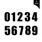 Startnummer Bold