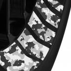 Felgenbettaufkleber Camouflage Design 15mm