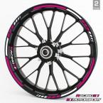 Felgenrandaufkleber RS - Pink