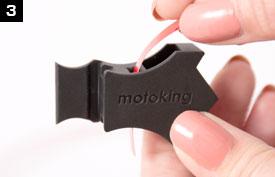 Verklebeanleitung Motoking Felgenaufkleber